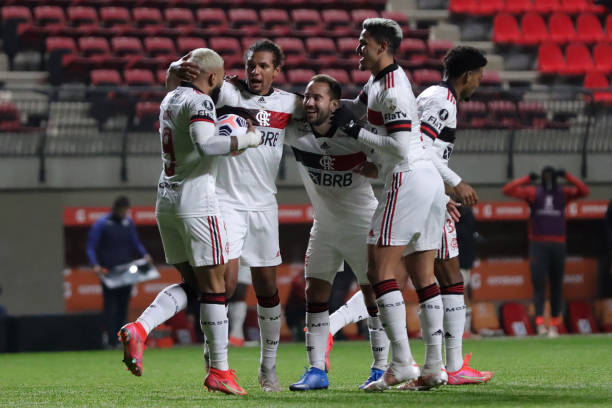 CHL: Union La Calera v Flamengo - Copa CONMEBOL Libertadores 2021