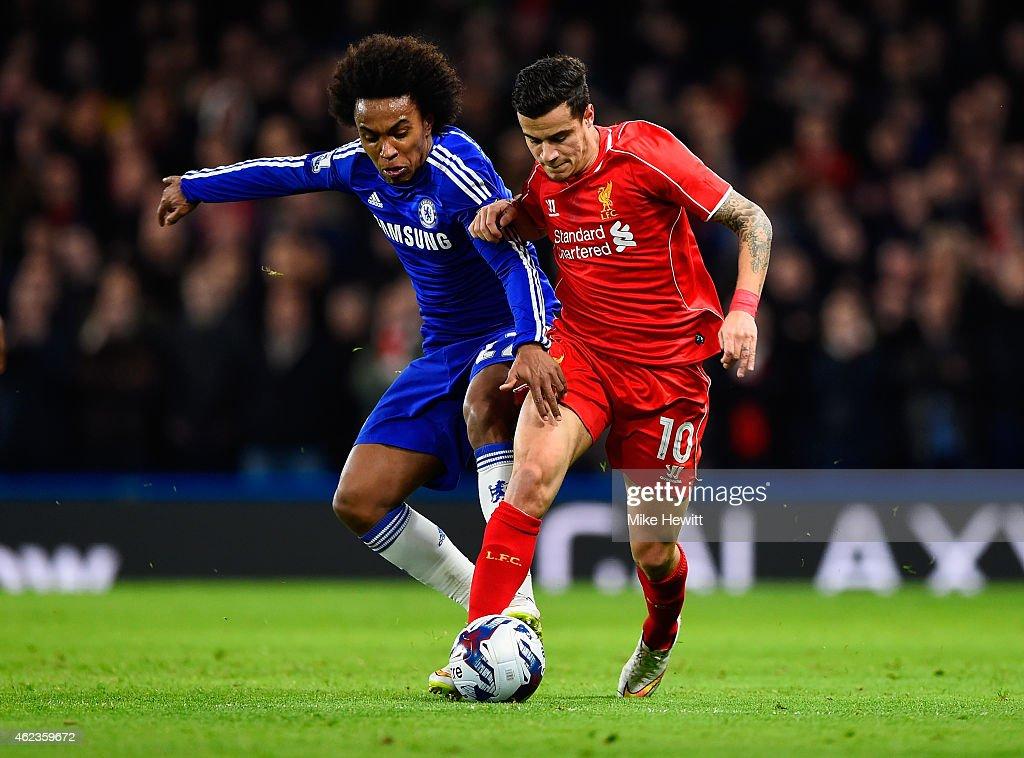 Chelsea v Liverpool - Capital One Cup Semi-Final: Second Leg : News Photo