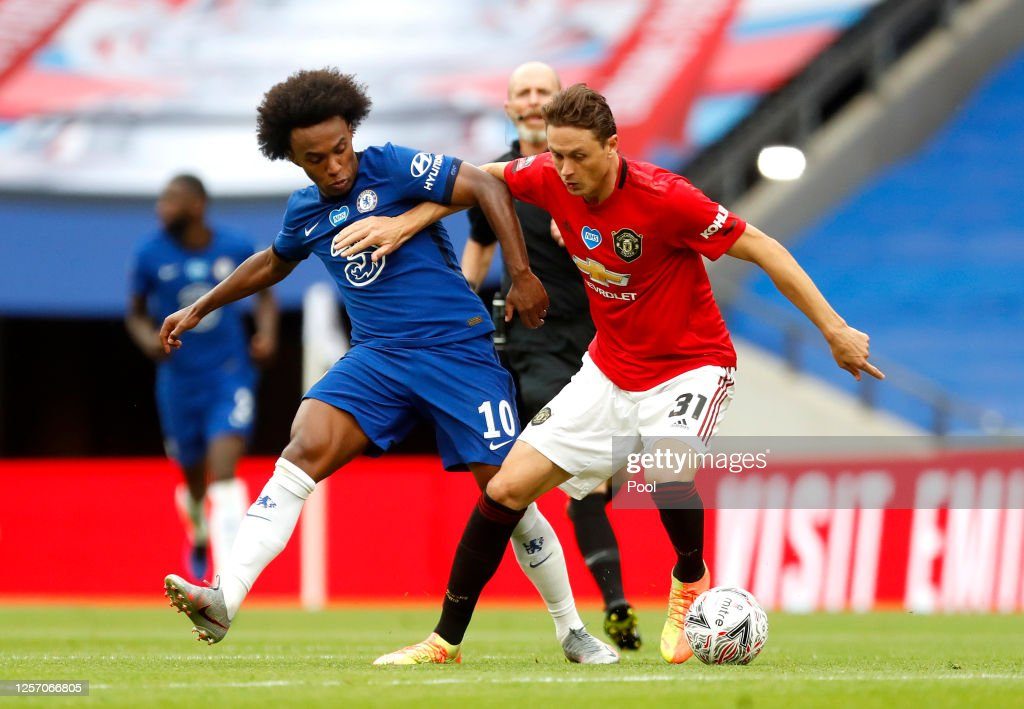 Manchester United v Chelsea - FA Cup: Semi Final : News Photo