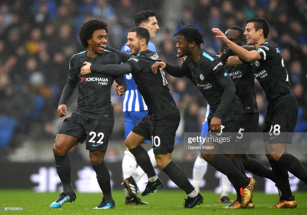 Brighton and Hove Albion v Chelsea - Premier League : News Photo