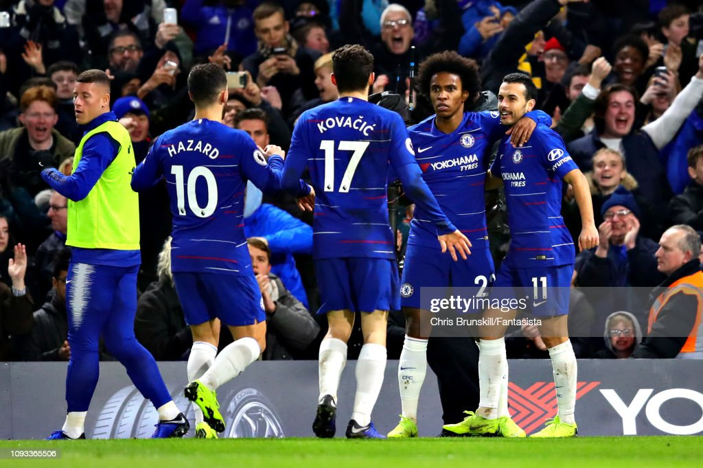Chelsea FC v Newcastle United - Premier League : News Photo