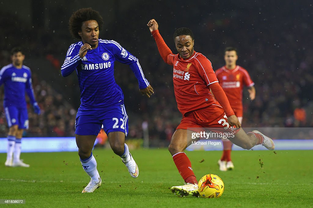 Liverpool v Chelsea - Capital One Cup Semi-Final: First Leg : News Photo