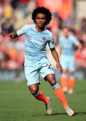 southampton england willian chelsea during premier