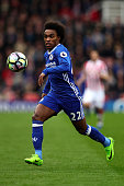 stoke trent england willian chelsea action