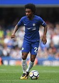 london england willian chelsea action during
