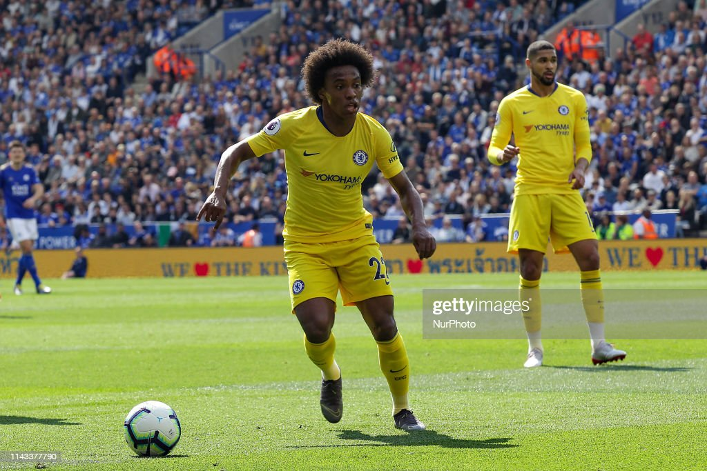 Leicester City v Chelsea FC - Premier League : News Photo