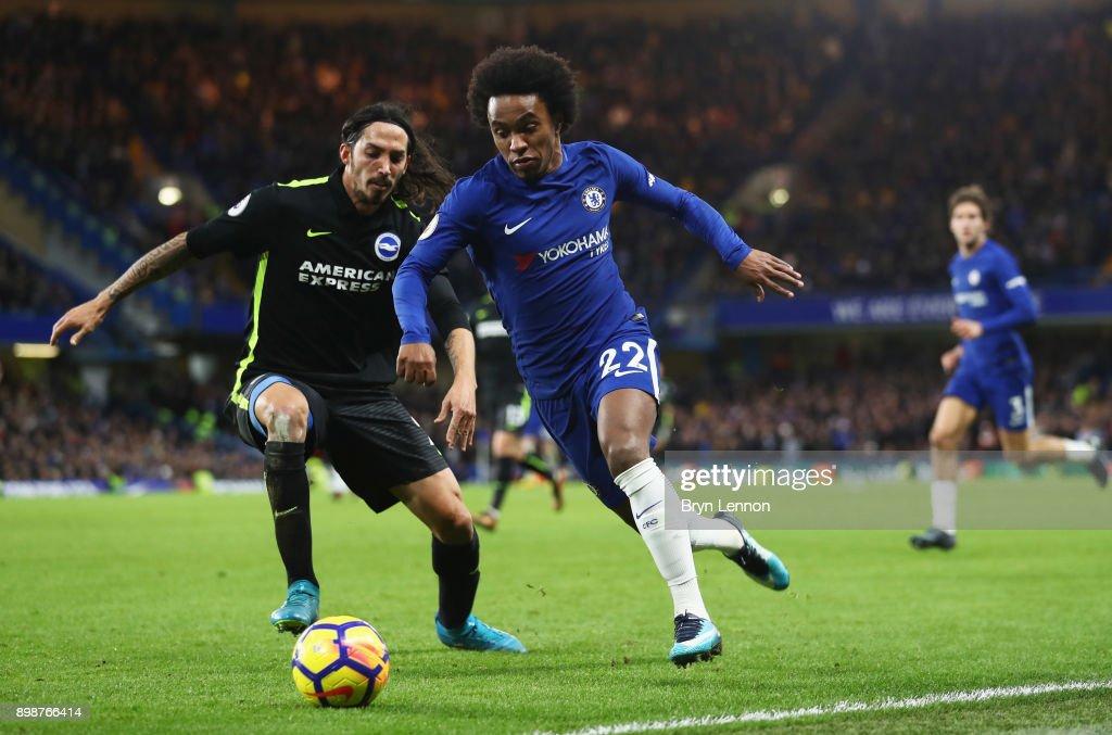 Chelsea v Brighton and Hove Albion - Premier League : Nachrichtenfoto