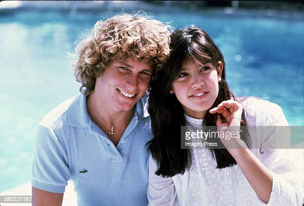 Willie Aames and Phoebe Cates circa 1981