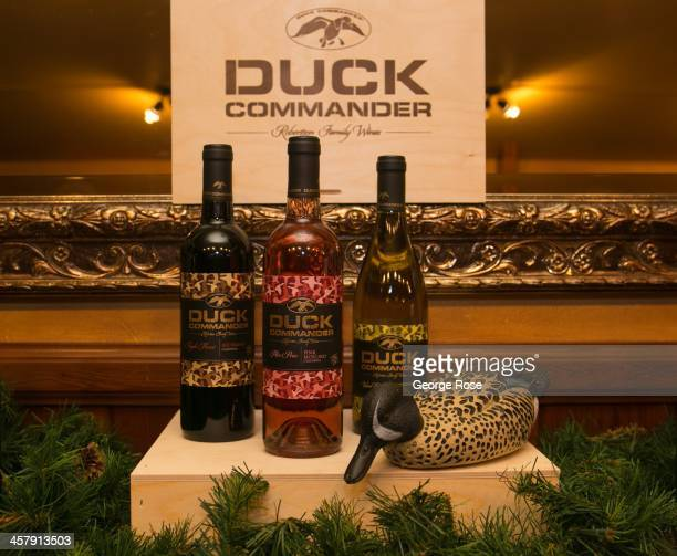 Willie and Korie Robertson stars of AE's hit TV show Duck Dynasty are in the Napa Valley to help launch their new wine brand on November 19 in Saint...