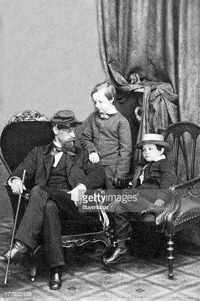 Willie and Tad Lincoln sons of President Abraham Lincoln with their cousin Lockwood Todd 1861 Thomas 'Tad' Lincoln was the fourth and youngest son of...