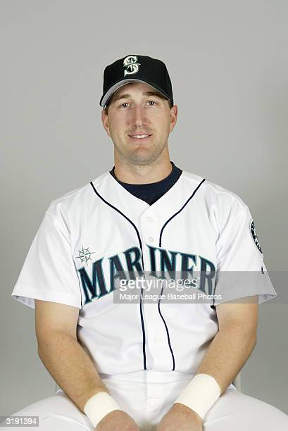 Willie Bloomquist of the Seattle Mariners on February 27 2004 in Peoria Arizona