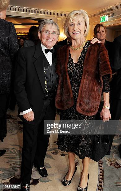 Willie Carson and wife Elaine attend the Cartier Racing Awards 2012 at The Dorchester on November 13 2012 in London England