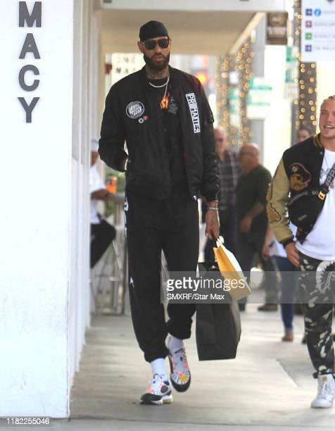 Willie CauleyStein is seen on November 13 2019 in Los Angeles California