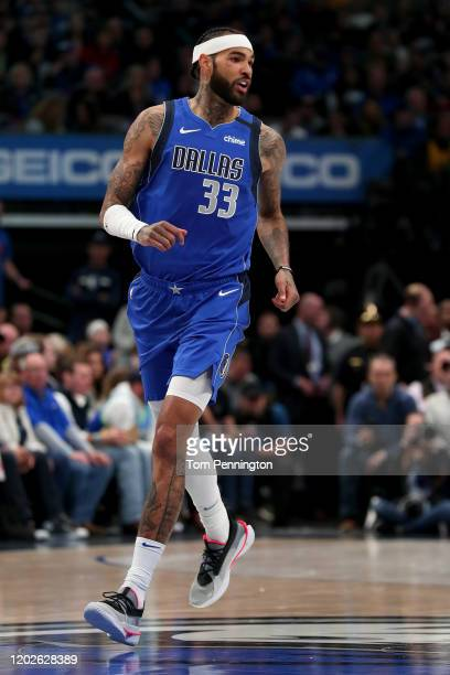Willie Cauley-Stein of the Dallas Mavericks in action against the Phoenix Suns in the first quarter at American Airlines Center on January 28, 2020...