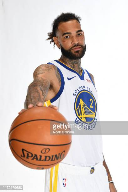 Willie Cauley-Stein of the Golden State Warriors poses for a portrait during media day on September 30, 2019 at the Biofreeze Performance Center in...