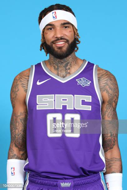 Willie CauleyStein of the Sacramento Kings poses for a head shot at media day on September 24 2018 at the Golden 1 Center in Sacramento California...