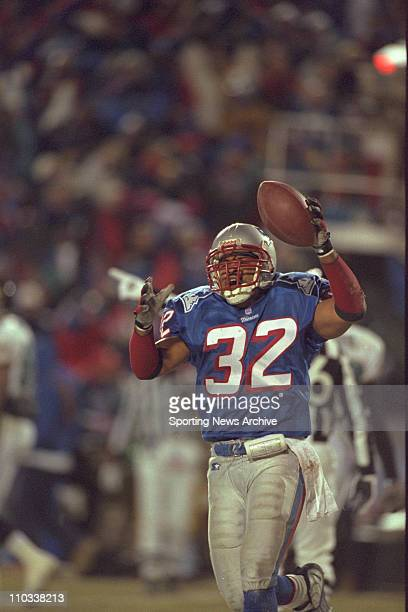 Willie Clay of the New England Patriots during the Patriots 206 victory over the Jacksonville Jaguars in the aFC Championship Game