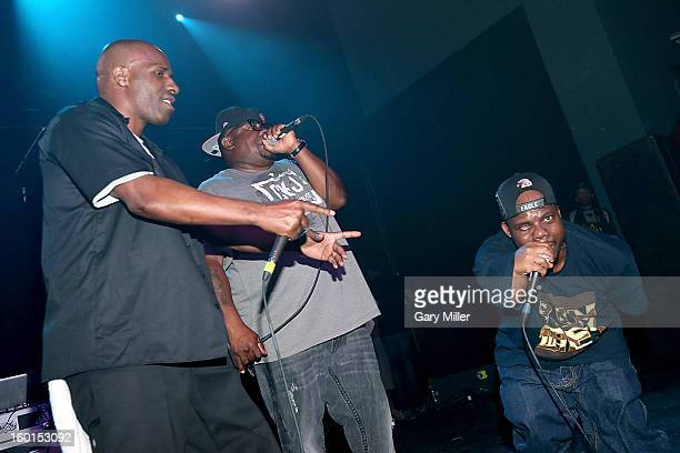 Willie D Scarface and Bushwick Bill of the Geto Boys perform in concert at Emo's on January 26 2013 in Austin Texas