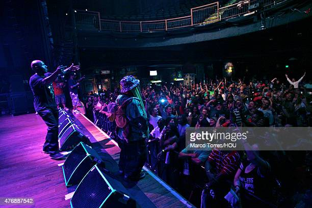 Willie D Scarface and Bushwick Bill of The Geto Boys perform in concert at the House of Blues on June 11 2015 in Houston Texas