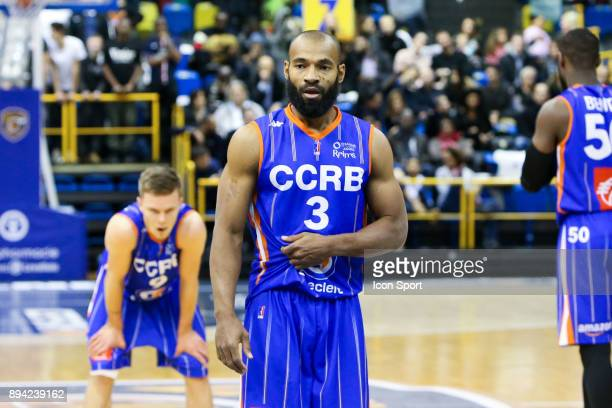 Willie Deane of Chalons Reims during the Pro A match between Levallois and Chalons Reims at Salle Marcel Cerdan on December 16 2017 in Paris France