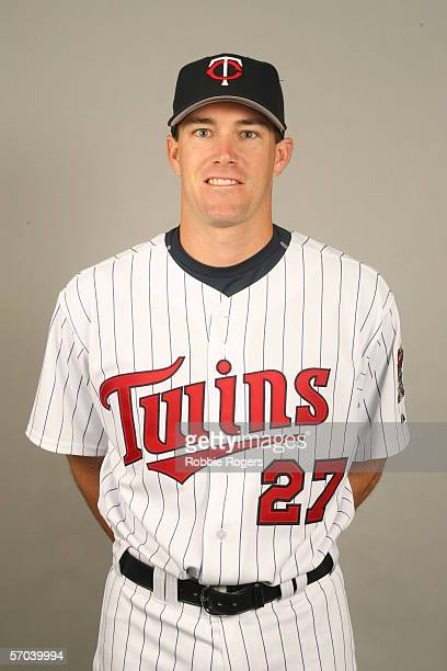 Willie Eyre of the Minnesota Twins during photo day at Hammond Stadium on February 27 2007 in Ft Myers Florida