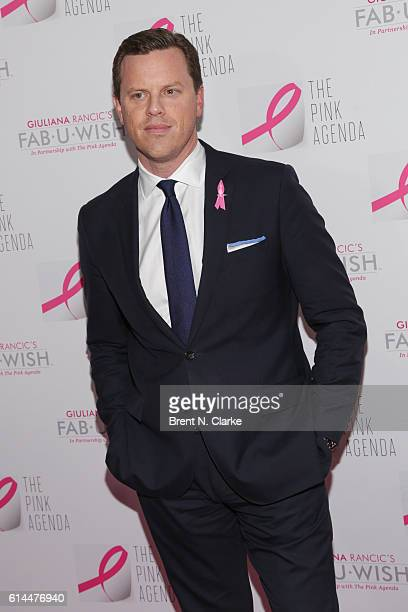 Willie Geist attends The Pink Agenda's 2016 Gala held at Three Sixty on October 13 2016 in New York City