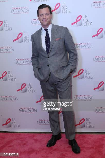 Willie Geist attends The Pink Agenda's Annual Gala at Tribeca Rooftop on October 11 2018 in New York City
