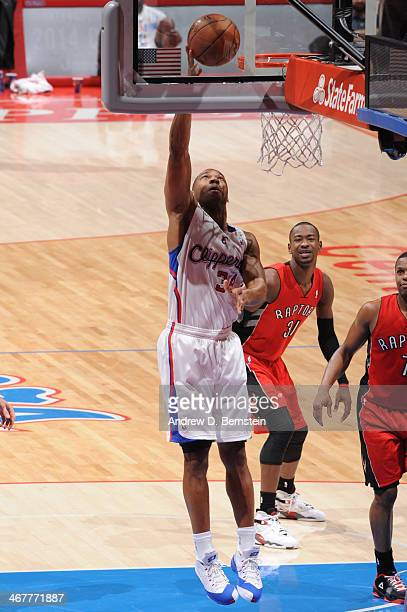Willie Green of the Los Angeles Clippers shoots during a game against the Toronto Raptors at STAPLES Center on February 7 2014 in Los Angeles...