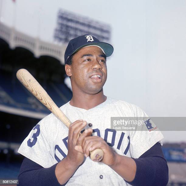 Willie Horton of the Detroit Tigers poses for a portrait Horton played for Detroit from 19631977