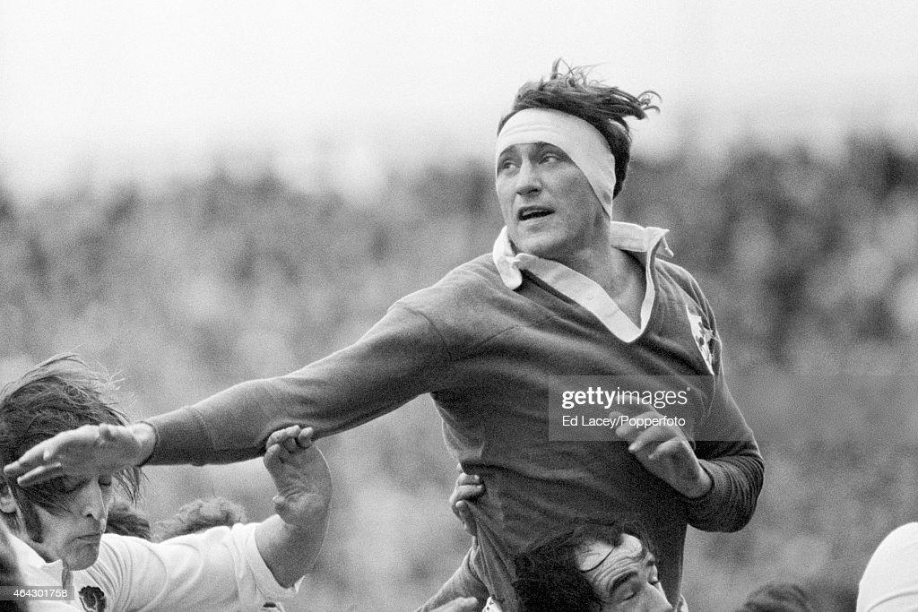 Willie John McBride - Ireland Rugby Union : News Photo