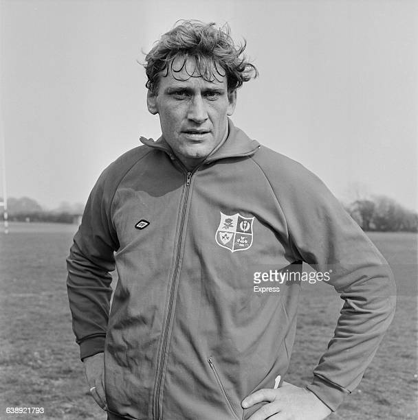 Willie John McBride of the British Lions rugby team UK 6th May 1971