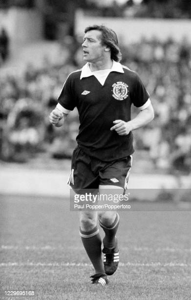 Willie Johnston of Scotland in action during the FIFA World Cup Group 4 match between Peru and Scotland at Chateau Carreras on June 3, 1978 in...