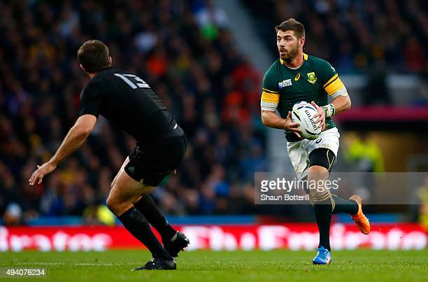 Willie Le Roux of South Africa in action during the 2015 Rugby World Cup Semi Final match between South Africa and New Zealand at Twickenham Stadium...