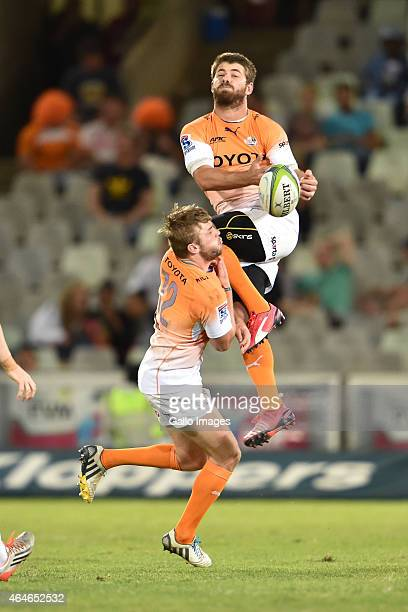 Willie le Roux of the Cheetahs during the Super Rugby match between Toyota Cheetahs and Blues at Free State Stadium on February 27 2015 in...