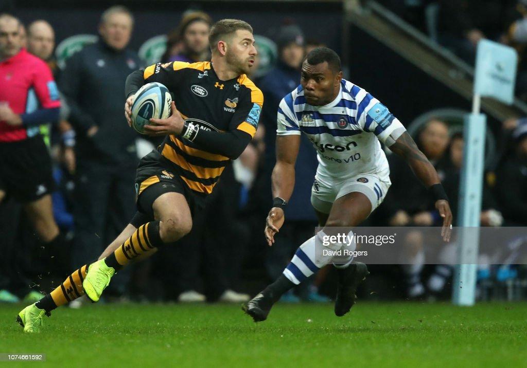Wasps v Bath Rugby - Gallagher Premiership Rugby : News Photo