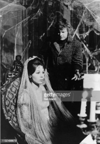 Willie Loomis and Josette DuPres filming House of Dark Shadows 1970