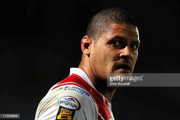 Willie Mason of Hull Kingston Rovers looks on during the Engage Super League match between Hull Kingston Rovers and Wigan Warriors at Craven Park on...