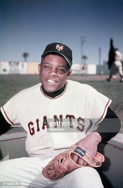 Willie Mays, centerfielder for the New York Giants, hit 660 home runs in his career and was inducted into the Baseball Hall of Fame in 1979.