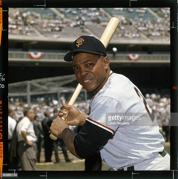 Willie Mays of the San Francisco Giants poses for a portrait circa 1962