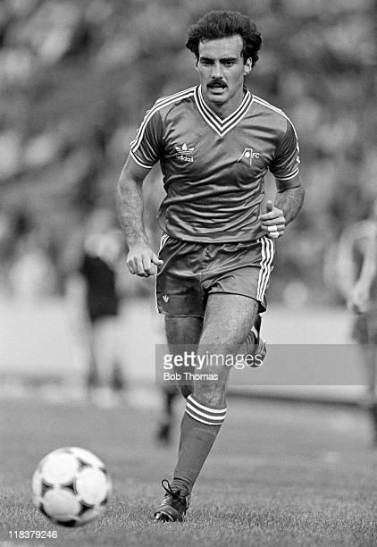 Willie Miller in action for Aberdeen at Pittodrie Stadium in Aberdeen August 1981