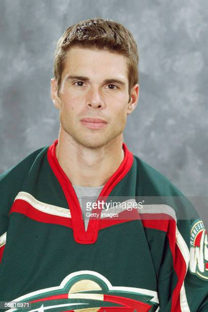 Willie Mitchell of the Minnesota Wild poses for a portrait at Xcel Energy Center on September 122005 in Saint PaulMinnesota