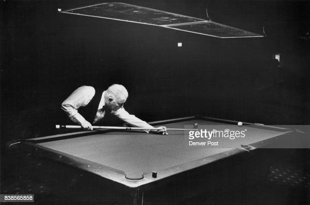 Willie Mosconi Stock Photos And Pictures Getty Images - Mosconi pool table
