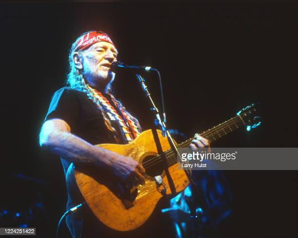 Willie Nelson and Family are performing at the Colorado State Fair in Pueblo, Colorado on Circa January i, 2000.
