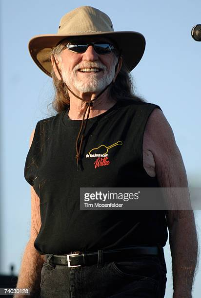 Willie Nelson and Family perform as part of the Coachella Valley Music and Arts Festival at the Empire Polo Fields on April 29, 2007 in Indio,...