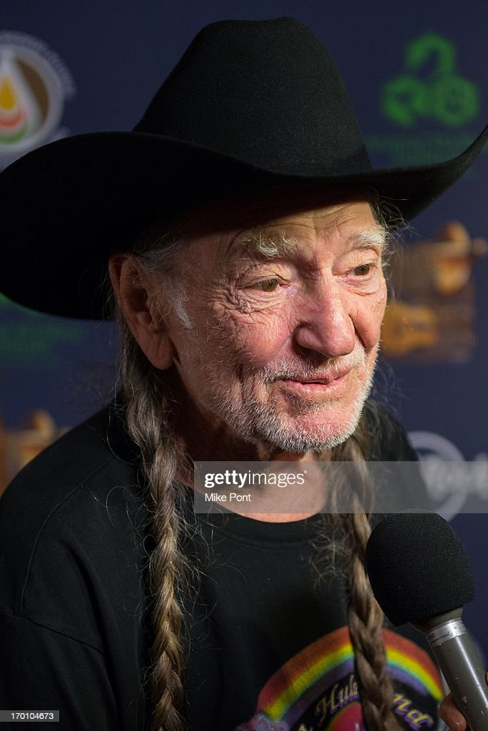 Willie Nelson attends Hard Rock International's Wille Nelson Artist Spotlight Benefit Concer at Hard Rock Cafe, Times Square on June 6, 2013 in New York City.