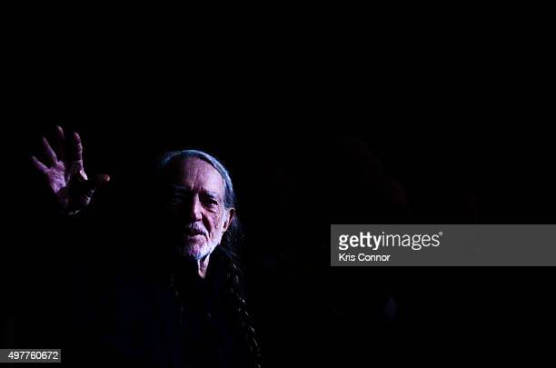 Willie Nelson attends the 2015 Gershwin Prize Honoree's Tribute Concert Honoring Willie Nelson at DAR Constitution Hall in Washington DC on November...