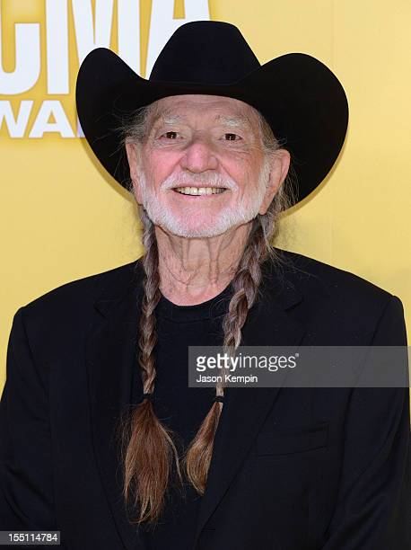 Willie Nelson attends the 46th annual CMA Awards at the Bridgestone Arena on November 1 2012 in Nashville Tennessee