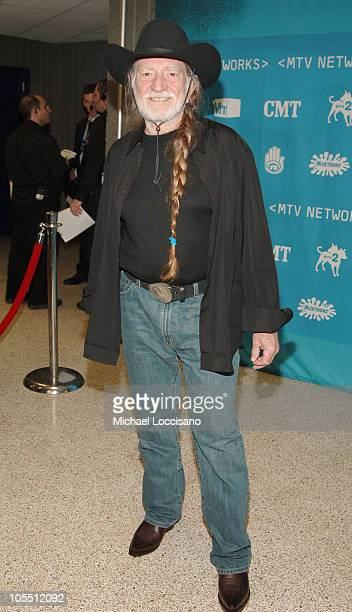 Willie Nelson during 2005/2006 MTV Networks UpFront at The Theatre at Madison Square Garden in New York City, New york, United States.