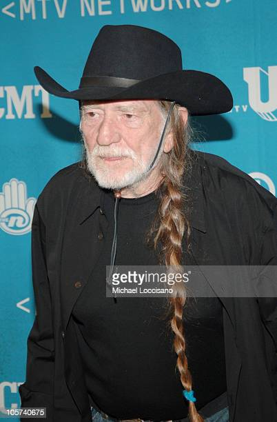 Willie Nelson during 2005/2006 MTV Networks UpFront at The Theatre at Madison Square Garden in New York City New york United States