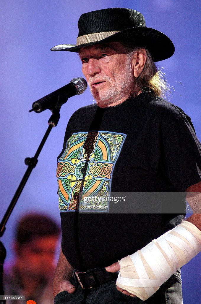Willie Nelson during 39th Annual Academy of Country Music Awards - Dress Rehearsal at Mandalay Bay Resort and Casino in Las Vegas, Nevada, United States.